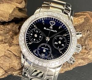 Blancpain Leman Chronograph Lady Automatic with Diamonds