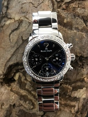 Blancpain Leman Chronograph Lady Automatic with Diamonds
