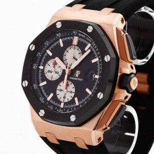 Audemars Piguet Offshore rose gold with rubber strap Full Set Ref. 26400RO.A002CA.01