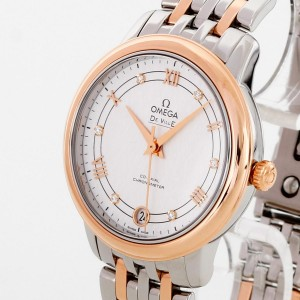 Omega De Ville Ladies watch Bi-Colour Co-Axial Chronometer Ref. 424.20.33.20.52.002