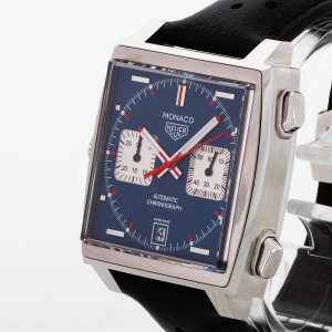 "Tag Heuer Monaco Chronograph Calibre 11 ""Steve McQueen"" Ref. CAW211P"