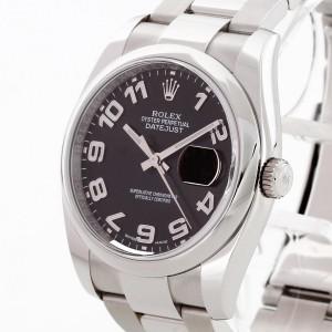 "Rolex Oyster Perpetual Datejust ""Black Arabic"" Ref. 116200"