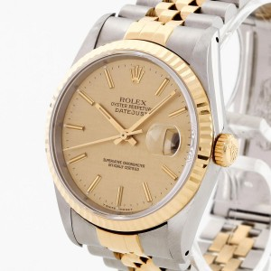 Rolex Oyster Perpetual Datejust 36 Stahl / Gelbgold Ref. 16233