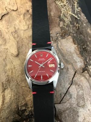 Rolex Oysterdate Precision an Lederband Ref. 6494
