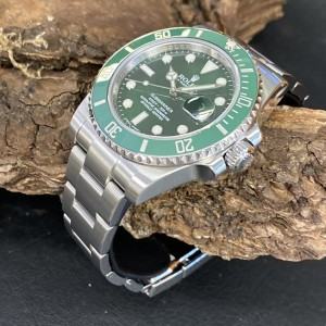 """Rolex Oyster Perpetual Submariner Date """"Hulk"""" Ref. 116610LV LC100 Rechung"""