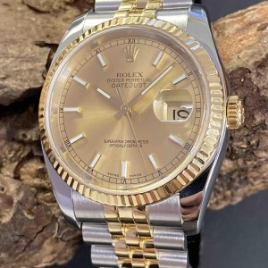 Rolex Oyster Perpetual Datejust Edelstahl/Gelbgold Ref. 116233