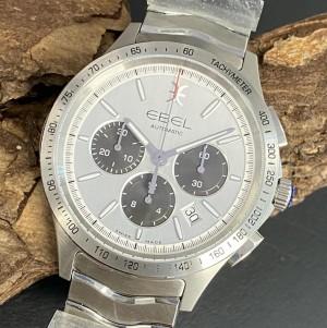 Ebel Wave Chronograph aus Edelstahl Ref. 1216403