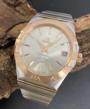 Omega Constellation Co-Axial 38 MM - Neuware - Ref. 123.20.38.21.02.001