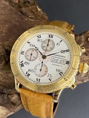 Longines Lindbergh Hour Angle Chronograph Ref. 67452336111