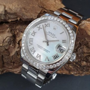 Rolex Datejust 31mm Mother of Pearl FULL SET Ref. 178384