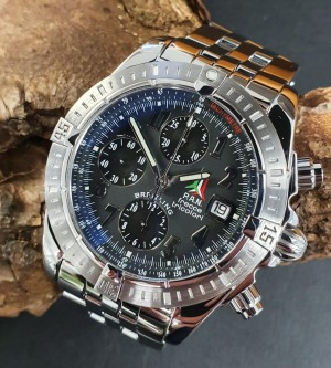 Breitling Chronomat Evolution freece tricolori FULL SET Ref. A13356