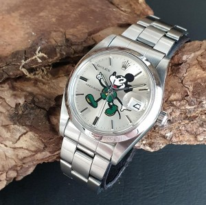 Rolex Oysterdate Precision Mickey Mouse Ref. 6694