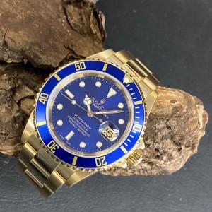 Rolex Submariner Date FULL SET LC100 Ref. 16618
