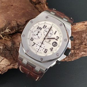 Audemars Piguet Offshore Chronograph 42 Safari FULL SET Ref. 26170ST.OO.D091CR.01
