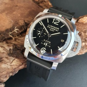 Panerai Luminor Marina GMT 8 days PAM233 Ref. OP7009