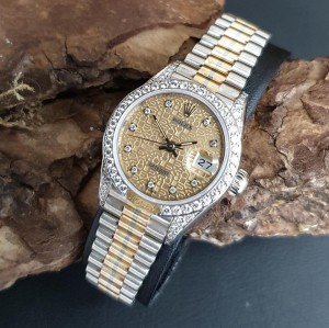 Rolex Datejust Lady 26mm Tridor FULL SET LC100 Ref. 69159