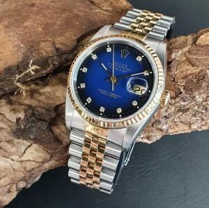 Rolex Datejust 36 Vignette FULL SET LC100 Ref. 16233