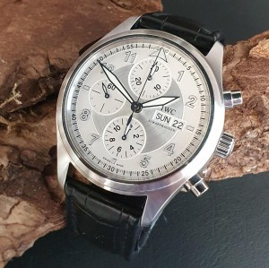 IWC Spitfire Chronograph FULL SET Ref. IW37102