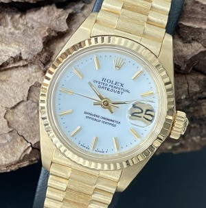 Rolex Datejust 26mm Lady Stella Porzellan Ref. 6927