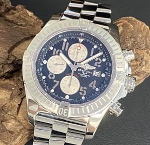 Breitling Super Avenger Chronograph FULL SET Ref. A13370168