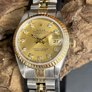 Rolex Lady Datejust 26mm ROLEX SERVICE Ref. 69173