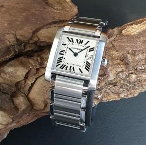 Cartier Tank Francaise Medium Ref. 2465