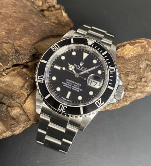Rolex Submariner Date FULL SET REHAUT Ref. 16610 2009