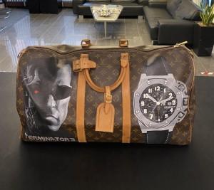"Louis Vuitton Keepall 55 ""Terminator 3"" travel bag"