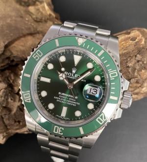 "Rolex Submariner Date ""Hulk"" FULL SET Ref. 116610LV"