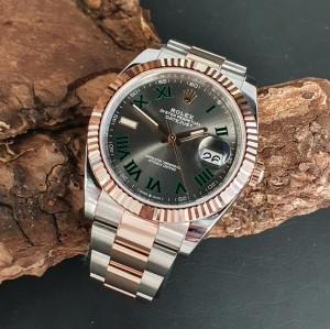 Rolex Datejust 41mm Wimbledon FULL SET Ref. 126331