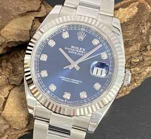 Rolex Oyster Perpetual Datejust 41 Diamant Ref. 126334