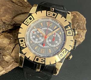 Roger Dubuis Easy Diver Chronograph LIMITED EDITION FULL SET Ref. SED46-78-51--00/08A10/B1