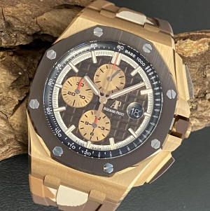 Audemars Piguet Offshore 44mm Camouflage Rosegold FULL SET Ref. 26401RO.OO.A087CA.01