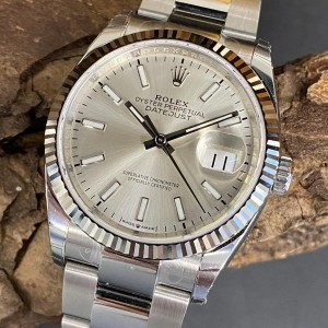 Rolex Oyster Perpetual Datejust 36 Ref. 126234 - LC100 - verklebt