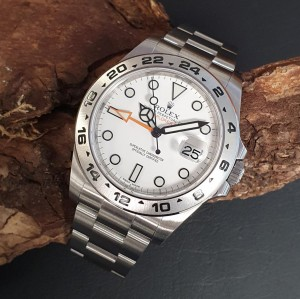 Rolex Explorer II FULL SET LC100 Ref. 216570