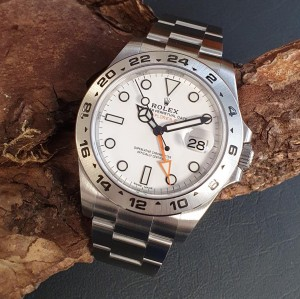 Rolex Explorer II FULL SET Ref. 216570