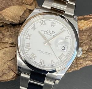 Rolex Datejust 36 NEU VERKLEBT FULL SET Ref. 126200