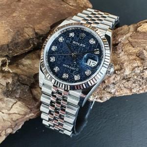 Rolex Datejust 36mm FULL SET DIAMANT JUBILÄUMSBLATT Ref. 126234
