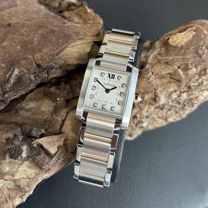 Cartier Tank Francaise FULL SET Ref. WE110004