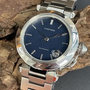 Cartier Pasha C Box+Papiere Ref. 1038