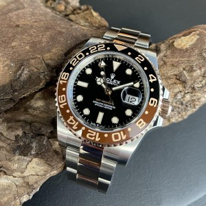 "Rolex GMT-Master II ""ROOTBEER"" FULL SET Ref. 126711CHNR"