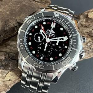 Omega Seamaster Chronograph GMT FULL SET Ref. 21230445201001