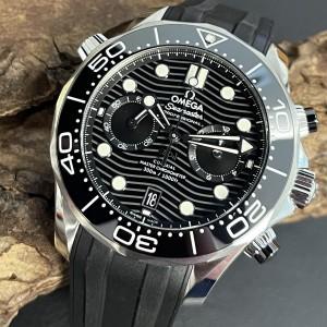 Omega Seamaster Chronograph FULL SET Ref. 21032445101001