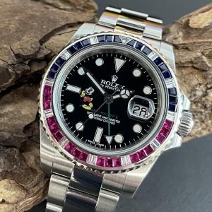 """Rolex GMT-Master II """"MICKEY"""" FULL SET Ref. 116710LN"""