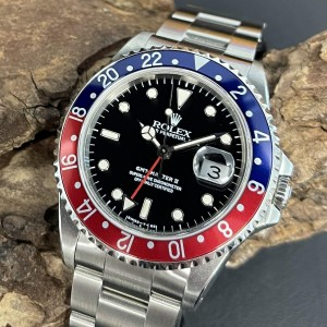 """Rolex Oyster Perpetual GMT-Master II """"Pepsi"""" Ref. 16710"""
