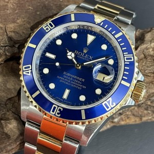 Rolex Submariner Date Box+Papiere Ref. 16613