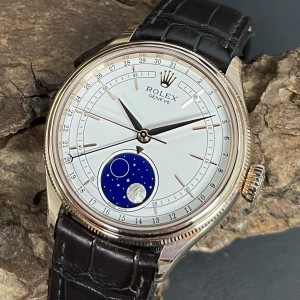 Rolex Cellini Moonphase FULL SET Ref. 50535