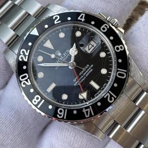 Rolex GMT-Master I SPIDER-DIAL FULL SET LC100 Ref. 16750