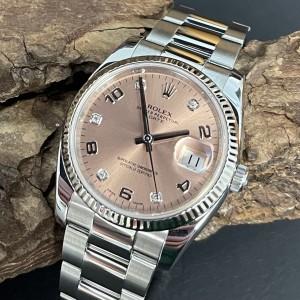 Rolex Date 34mm FULL SET Ref. 115234