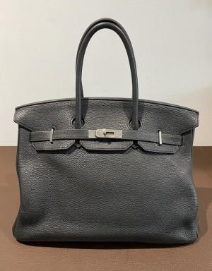Hermès Birkin Bag 35 - ladies´ handbag in black